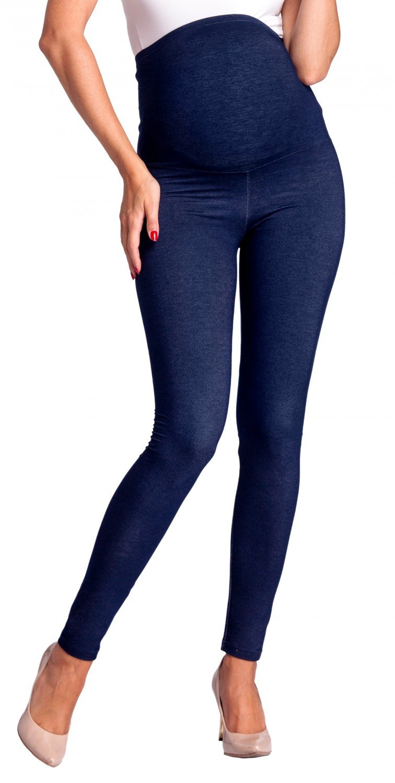 Zeta Ville - Premamá leggings efecto mezclilla banda para barriga - mujer - 948c maternity_leggings_948