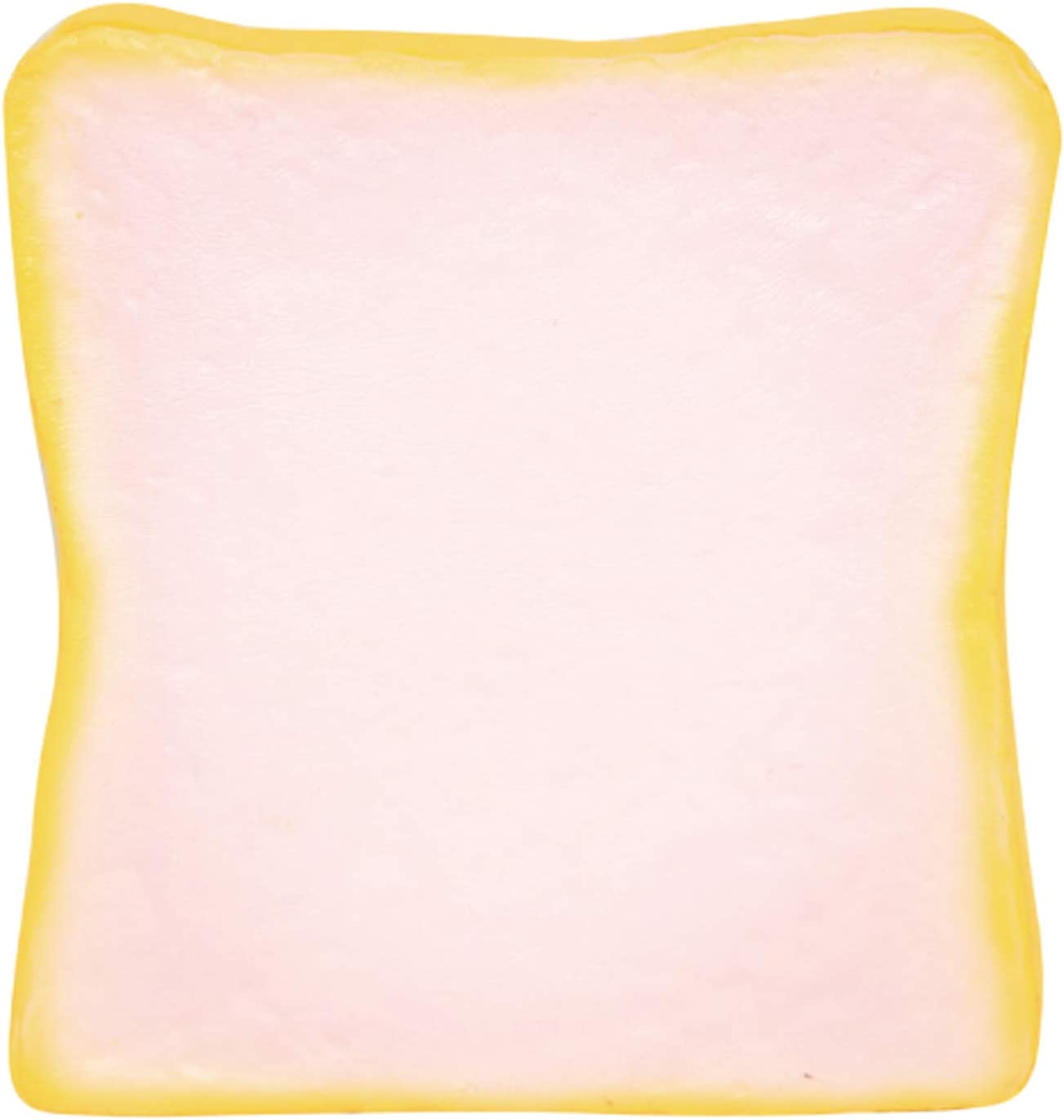 iBloom Aoyama Tokyo Milk Toast Realistic Bread Slow Rising Squishy Toy (Strawberry Scented, Pink, 5.1 Inch) [Kawaii Squishies for Party Favors, Stress Balls, Birthday Gifts for Kids, Girls, Boys]