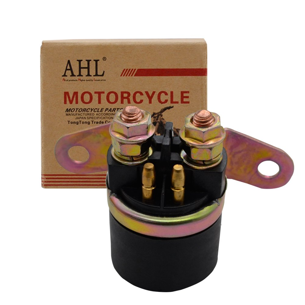 AHL Motorcycle Starter Solenoid Relay for Suzuki 125 GN125 1991-1997