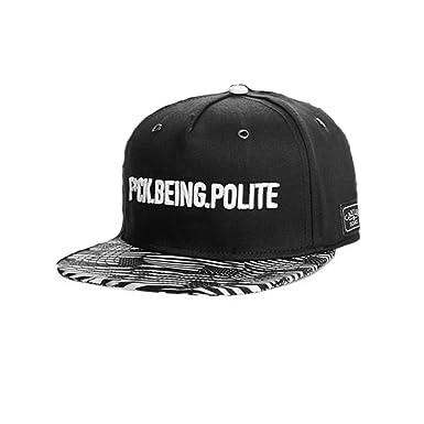 express hats - Gorra de béisbol - para hombre negro negro Talla ...