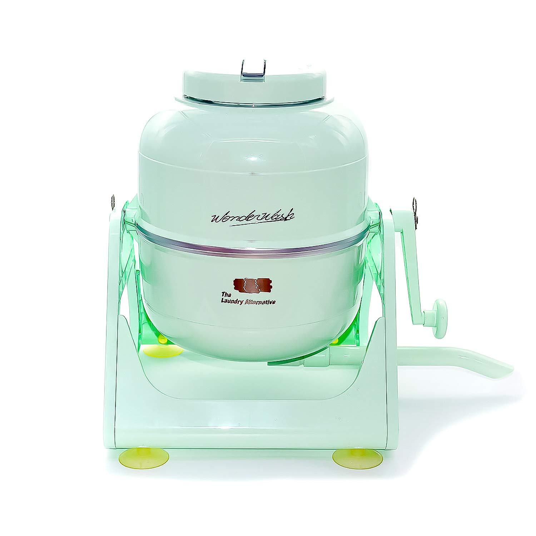 The Laundry Alternative Wonderwash Retro Colors Non-electric Portable Compact Mini Washing Machine (Mint Green) by The Laundry Alternative