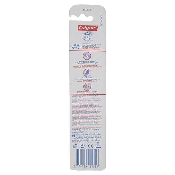 Colgate Microsonic - Cepillo de dientes eléctrico  Amazon.es  Hogar 58205758aaf3