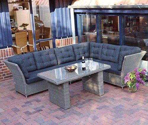 Destiny Loungegruppe Palma Riviera Xl Vintage Grau Lounge Garnitur