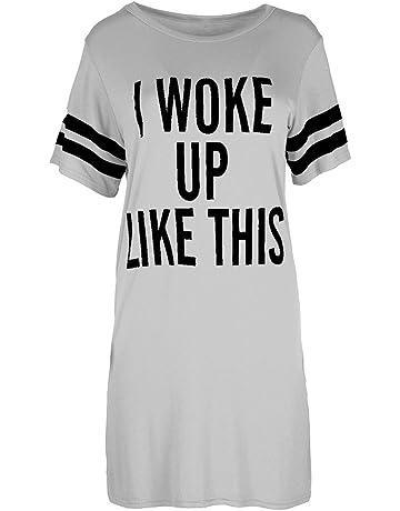 f6ef9f6311b LIMITA T Shirt Dresses for Women Summer Top Baggy Tunic Plus Size Dress