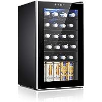 Antarctic Star 24 Bottle Wine Cooler/Cabinet Beverage Refigerator Mini Fridge Small Wine Cellar Soda Beer Counter Top…