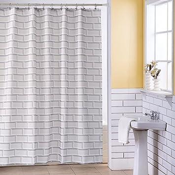 Shower Curtains Dusche Vorhänge Vintage Brick Design Muster ...