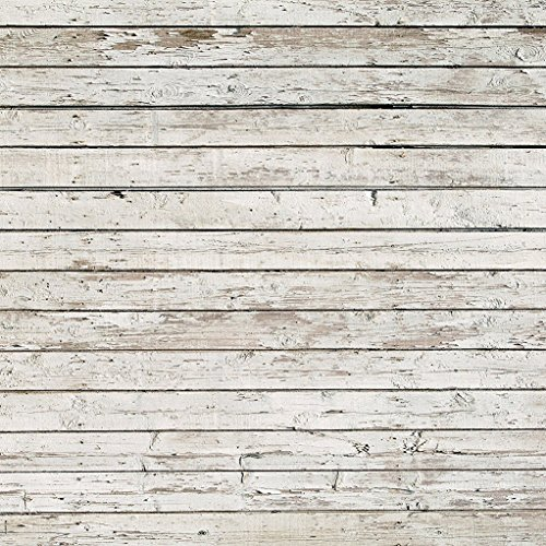 8x8 ft Vintage Wooden Photography Backdrops Seamless Wood Wall Photo Booth Background Prop for Studio (Studio Vintage)