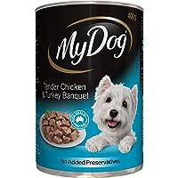 MY DOG Chicken and Turkey Dog Wet Food, 400g, Adult, Small/Medium