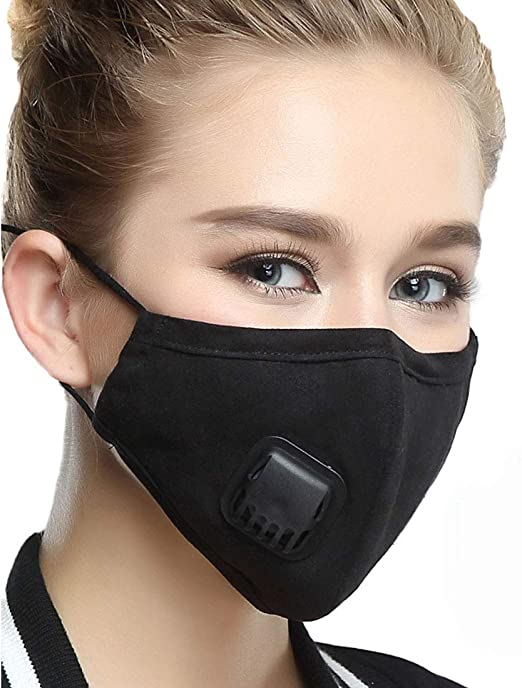 masque anti pollution coton