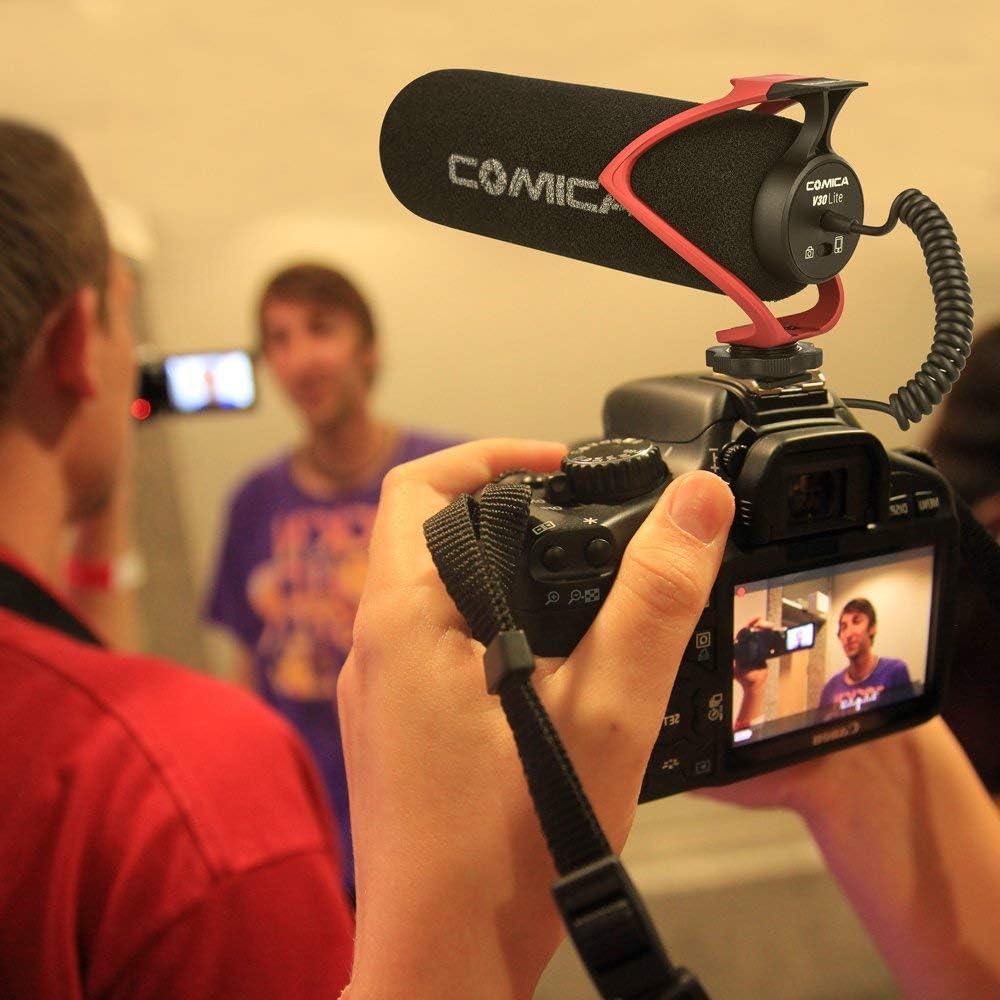 Comica CVM-V30 Microphone pour Appareil Photo /à condensateur directionnel Super cardio/ïde