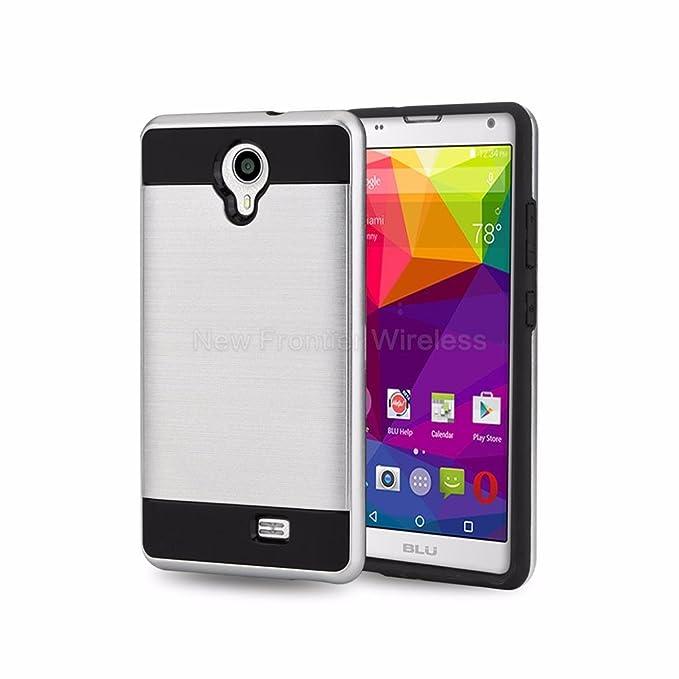 BLU Studio X6 - Funda de Piel sintética para Smartphone (Incluye ...