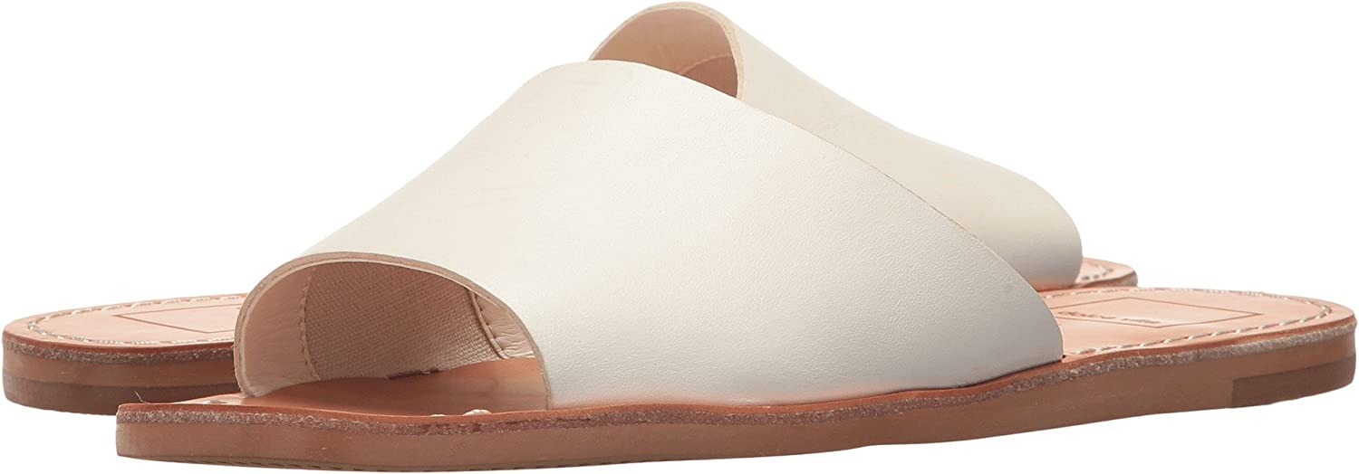 Dolce Vita Women's Cato Slide Sandal B077QN3H37 12 B(M) US|Off-white Leather