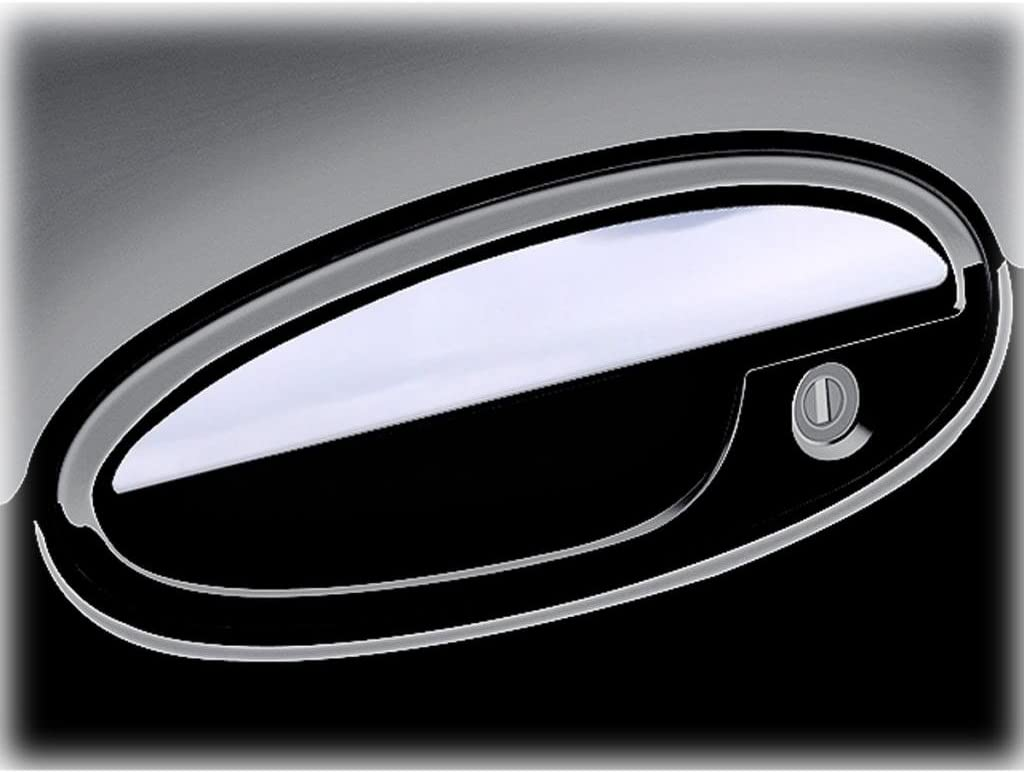 2000-2007 Chevy Monte Carlo OTH-110-02 Ferreus Industries Polished Stainless Door Handle Cover Trim fits
