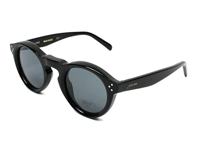 Céline 807 45G8 Gafas de Sol, Black, 45 Unisex: Amazon.es ...