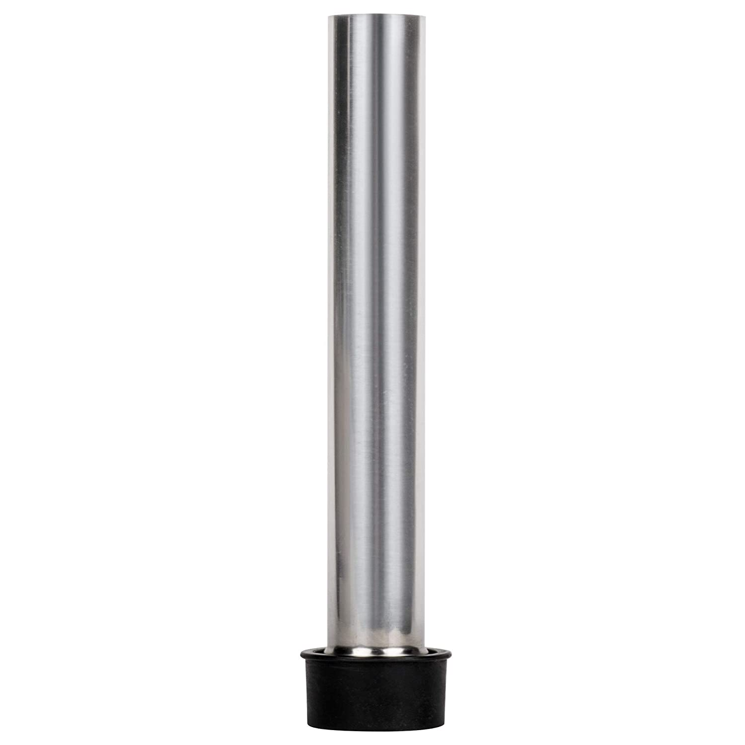 Regency Stainless Steel Metal Bar Sink Overflow Pipe 8 Inches High for 1-1//2 Drain Hole