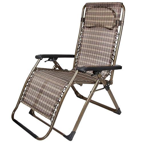 WOYQS Silla Camping Sillones ensanchados, sillas reclinables ...
