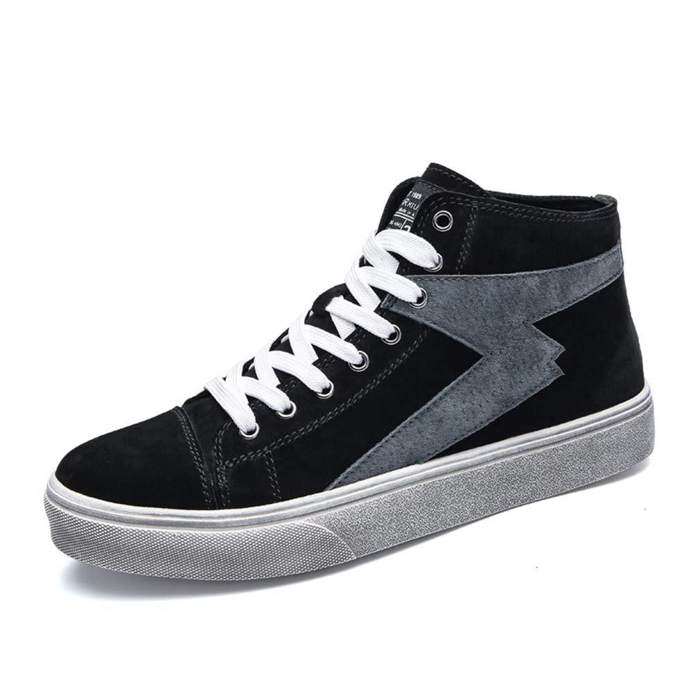 Gfphfm Herrenschuhe, High-Top Casual schuhe schuhe schuhe Wild Academy Deck Schuhe Fashion Komfortable Flachschuhe,A,40 422e41