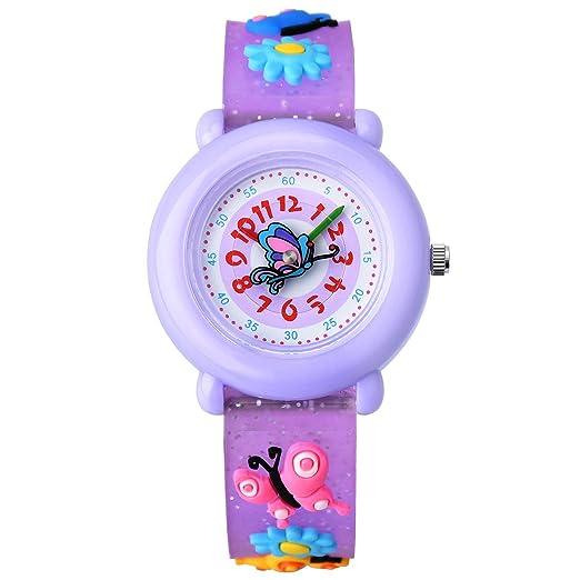 0545f9e06 Amazon.com  ZEIGER Time Teacher First Watch Young Girls Children Kids  Watches