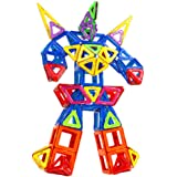 多多鹿 磁力片百变提拉 益智早教 磁铁拼装建构磁性积木 创意拼插积木 儿童玩具