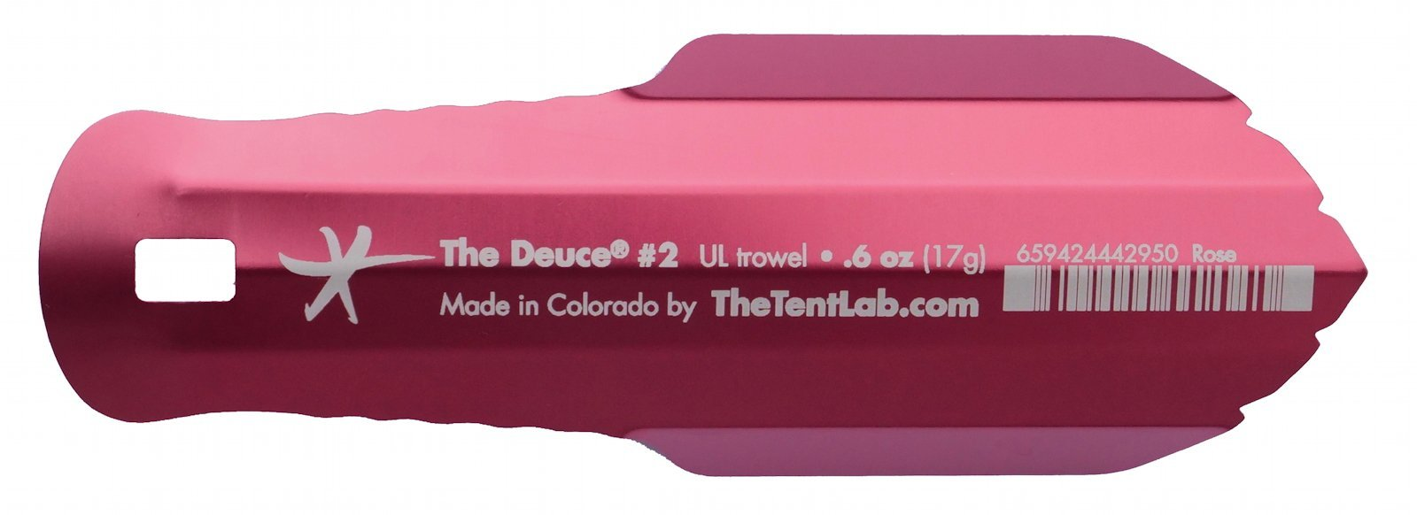 TheTentLab New Improved Deuce(R) Ultralight Backpacking Potty Trowel - Now in 3 Sizes