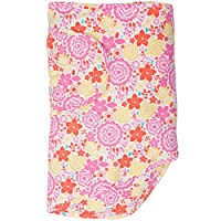 Miracle Blanket Swaddle for Baby Girls, Poppy Fields, Newborn to 14 Weeks