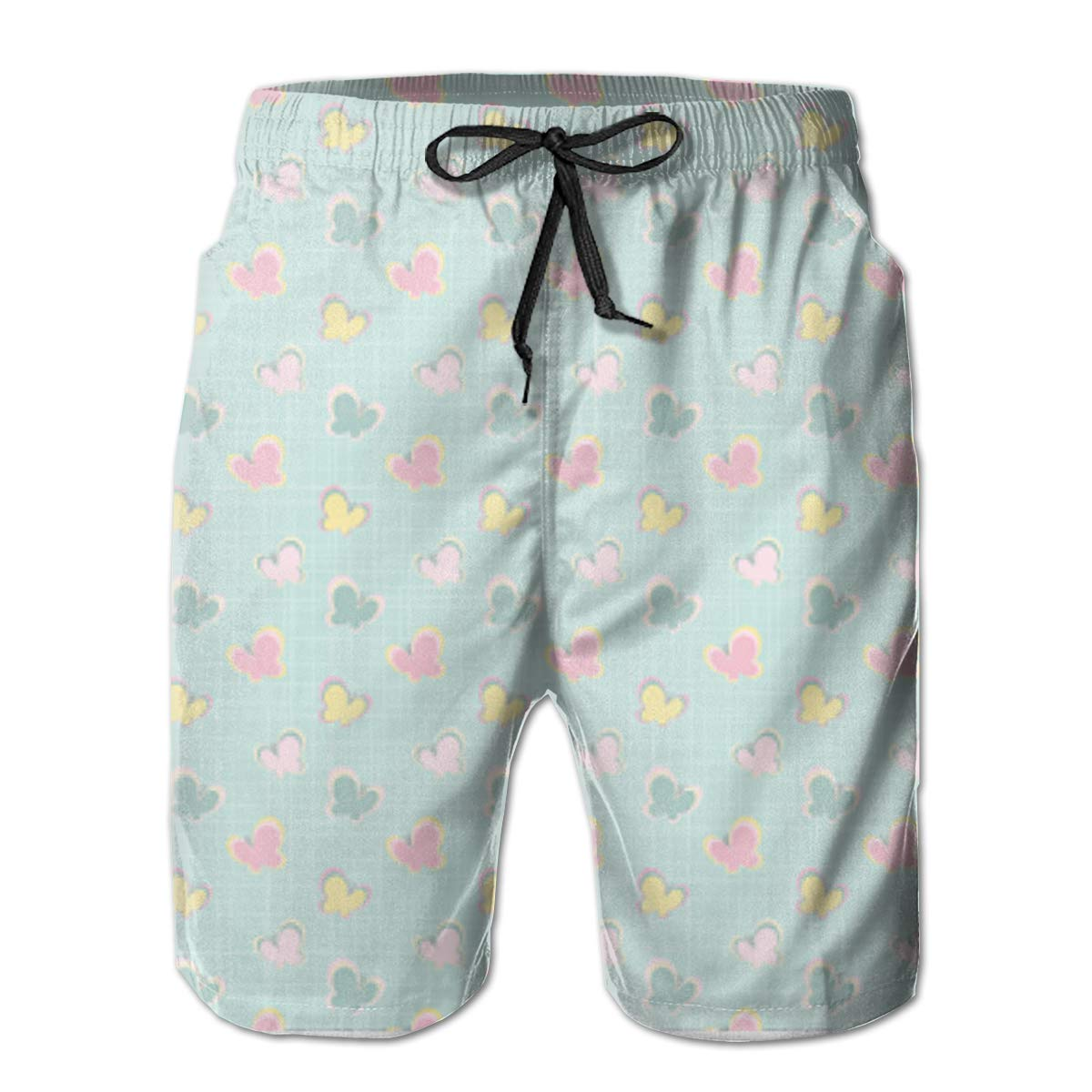 HUIHSWSNAZZPrinted ImagesFashionGraphic Mens Beach Shorts for The Broad YouthXXL