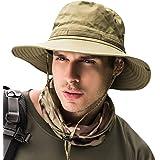 Fashion Mens Fishing Hats Summer Sun Cap for Outdoor Activities Fishing Camping Cycling Hunting Hiking