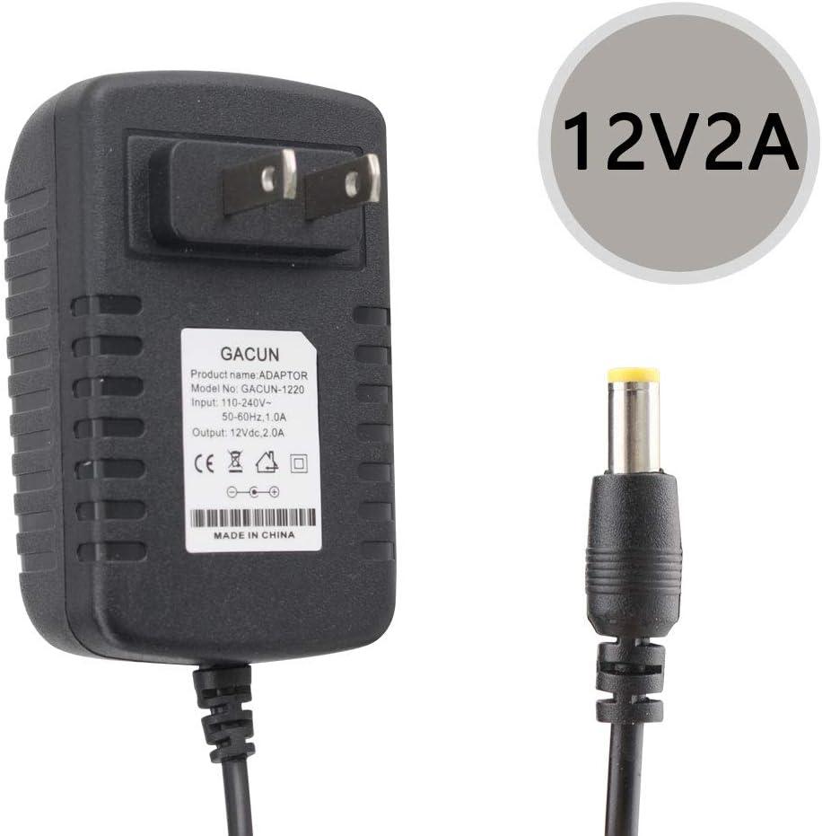AC 110-240V Converter Adapter DC 12V 2A Power Supply Plug For LED Strip Light E