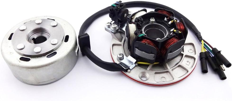 XLJOY Magneto Stator Rotor Kit W// Light for Chinese YX 140cc 150cc 160cc Pit Dirt Bike