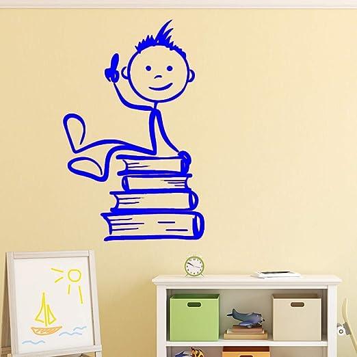 zqyjhkou Dibujos Animados niños Pared Arte calcomanía Pared Arte ...