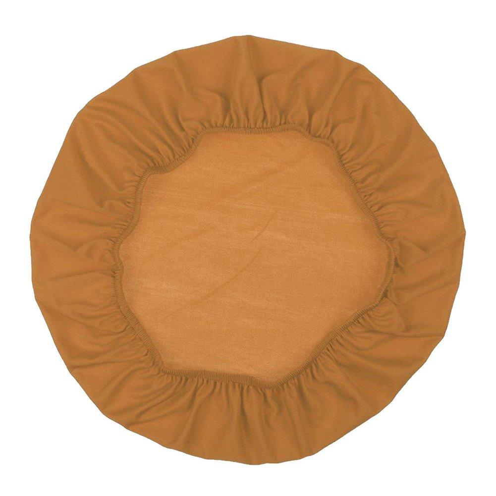 Taglia libera 45/cm-50/cm puck230 Sedia da pranzo coprisedili /moderno stile semplice 1PC Home matrimonio banchetto sedia fodera cuscino covers-antifouling-removable-stretchable-washable/ Beige