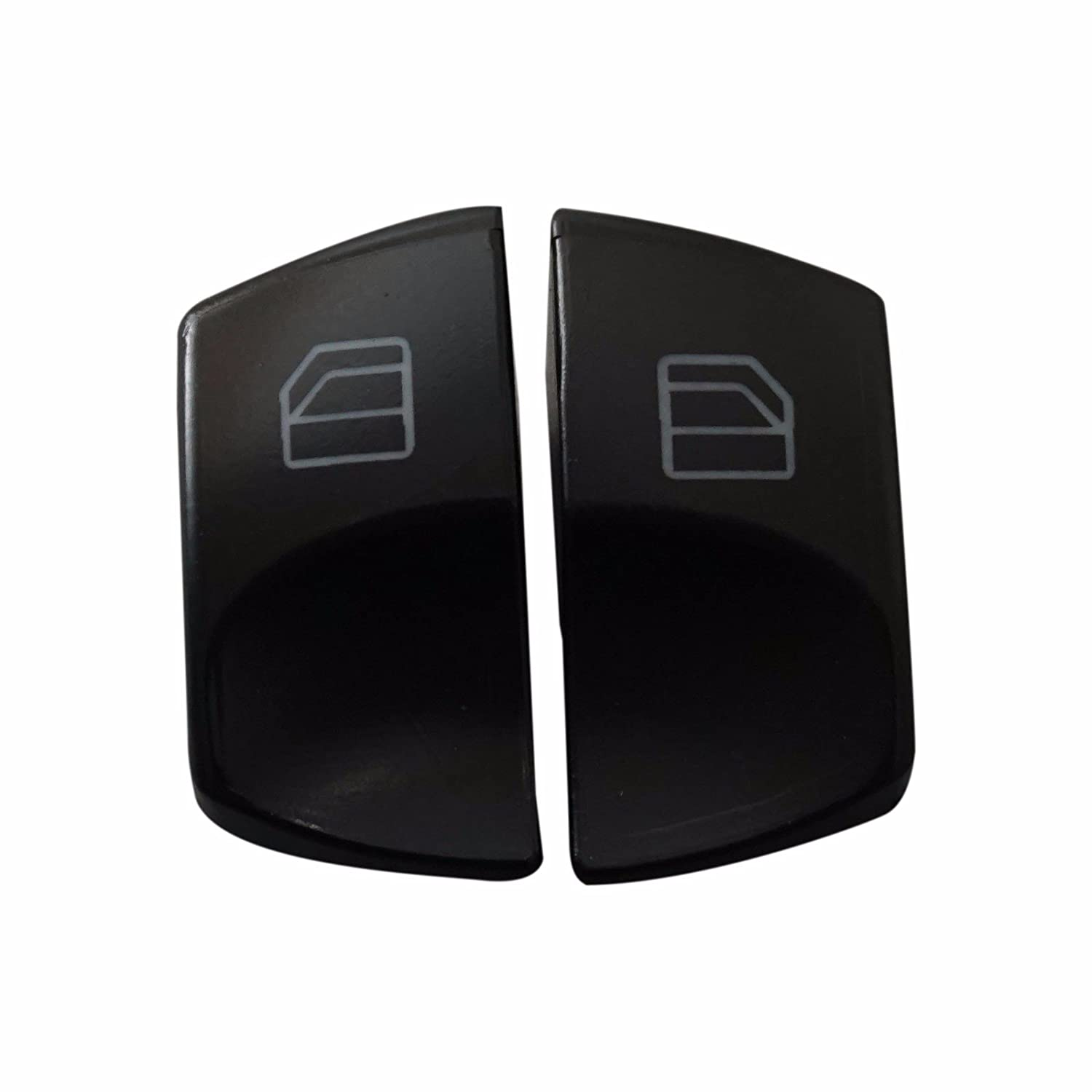 ESC EDP549FBA 2 Pieces Window Switch A 906 545 1213 Button Cover Front Left Door Driver Side For Mercedes Sprinter W906 Crafter Dodge 2006-On ESC Auto Parts