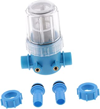 Filtro de Agua Lavadora de Presión de Línea Limpiador Protección ...