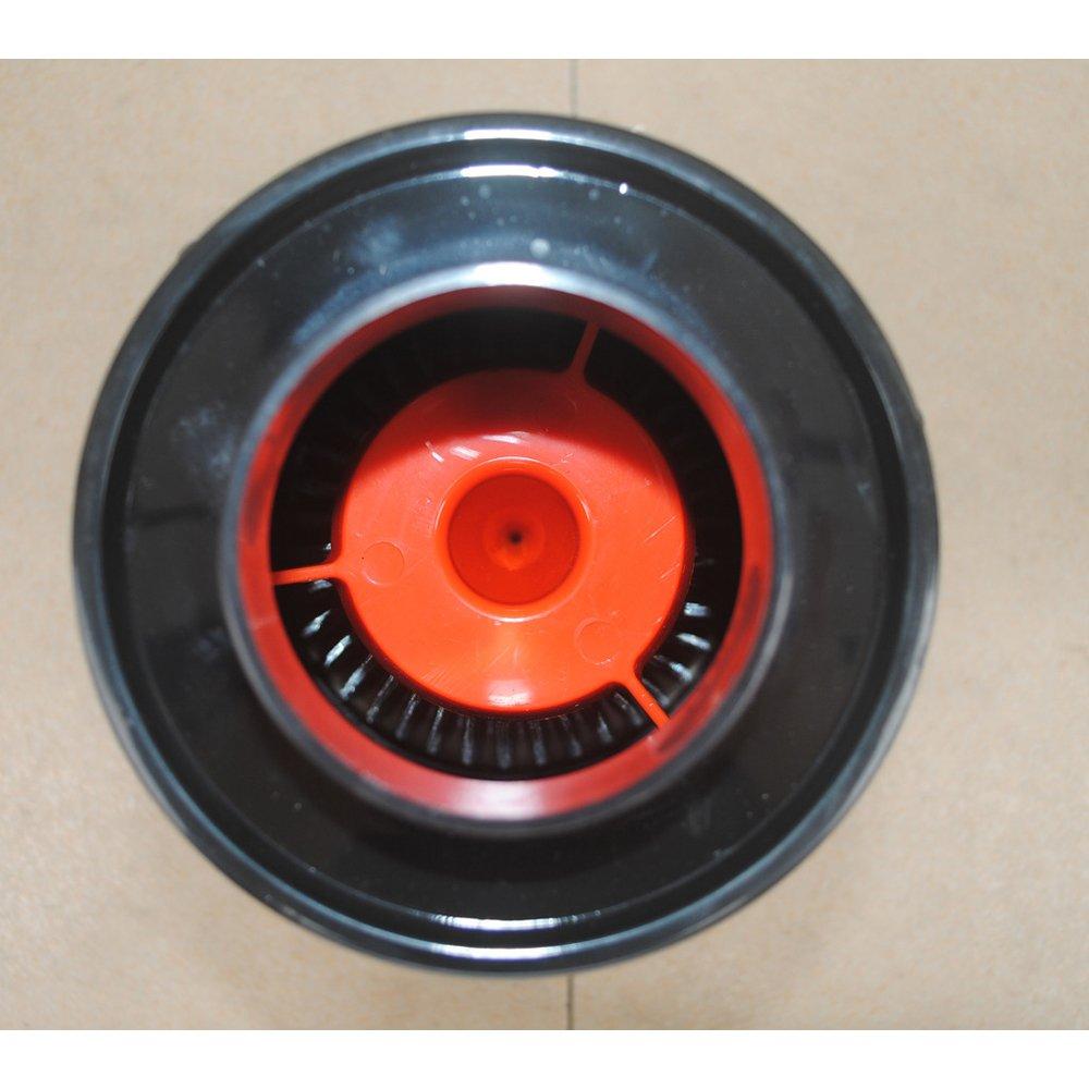 VerRich Filtro Aria Auto Sistema di aspirazione aria fredda in fibra di carbonio da 3  Serie 76 mm