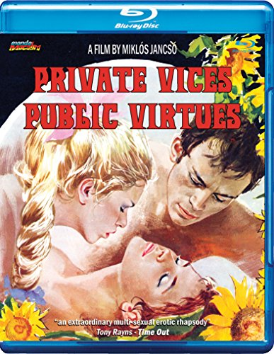 Intimate Vices Public Virtues [Blu-ray]