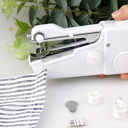 fish máquina de Coser a Mano Mini multifunción portátil máquina de ...