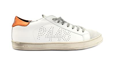 Damen Sneaker Weiß Bianco, Weiß - Bianco - Größe: 40 EU P448