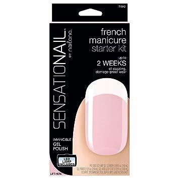 Amazon Sensationail Gel Polish Starter Kit French Manicure