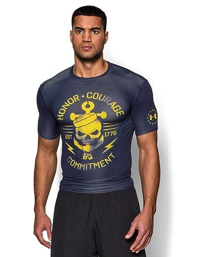 przejść do trybu online buty sportowe najlepsza cena Under Armour Men's UA Freedom Navy Compression Shirt