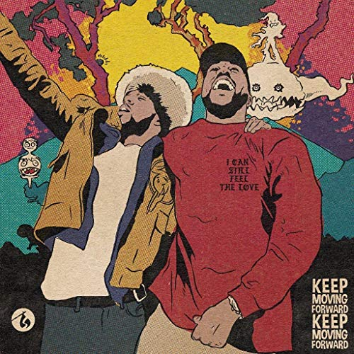 United Mart Poster Kid Cudi and Kanye West Singer - Kids See Ghosts Poster 12x18 Inch Rolled Poster (Best Of Kid Cudi)