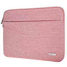 Lacdo 13 - 13.3 Inch Laptop Sleeve Case for MacBook Air | MacBook Pro Retina 2012 - 2015 | 12.9 Inch iPad Pro | Protective Dell HP Acer ASUS Samsung Lenovo Chromebook Notebook Tablet Bag, Pink