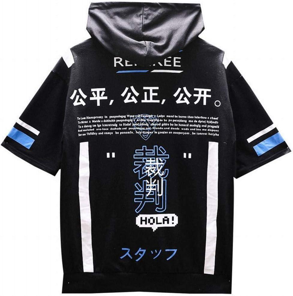 Z-X - Camiseta de algodón con Capucha para Hombre, diseño ...