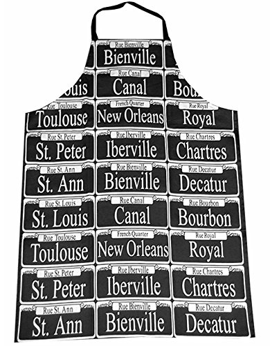 New Orleans Street Signs Chef's Apron