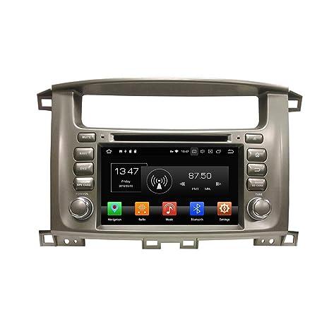 Kunfine Android 8.0 Octa Core Coche DVD GPS navegación Multimedia Reproductor estéreo Coche para Toyota Lander
