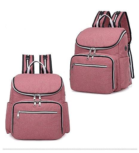 LJY - Mochila para mujer (dos bolsas, para guardar ...