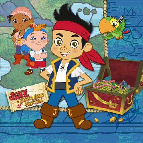 Jake & the Never Land Pirates Small Napkins (16ct)]()