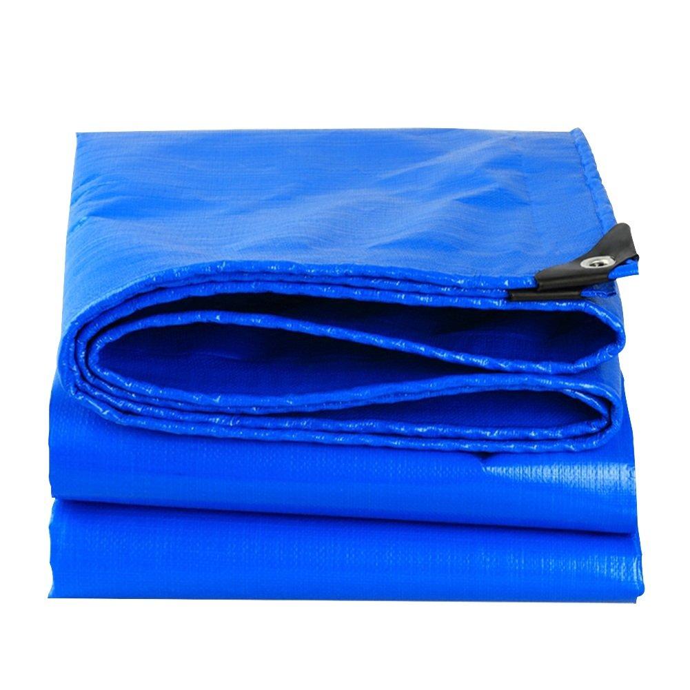 DYFYMXOutdoor Ausrüstung Plane, regensichere Sonnencreme Abriebfeste Sonnenschutzisolierung atmungsaktive Anti-Aging-Anti-Korrosions-Frostschutzmittel, blau @