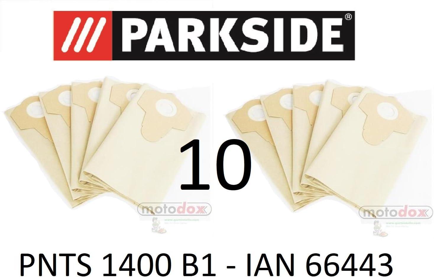 10 bolsas de aspiradora Parkside 30 L pnts 1400 B1 Lidl Ian 66443 ...