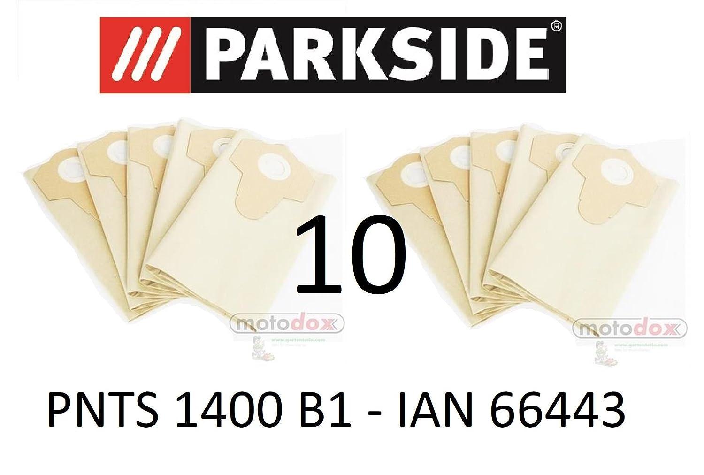 10 bolsas de aspiradora Parkside 30 L pnts 1400 B1 Lidl Ian ...
