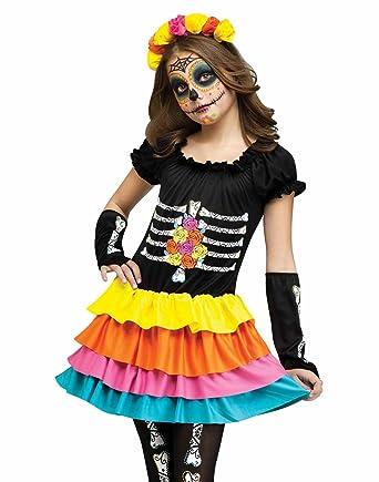 Fun World - Dia de los muertos - Disfraz de niño: Amazon.es ...